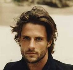 mens medium length hairstyles - Google Search