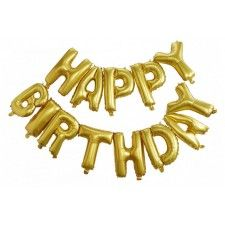 No big birthday bash is complete with this glamorous goodie! Sure to amaze when added to party décor, this balloon bunting comes in a shimmering gold . Jumbo Balloons, Letter Balloons, Mylar Balloons, Balloon Garland, Balloon Decorations, Birthday Party Decorations, Birthday Parties, Balloon Ideas, Special Birthday