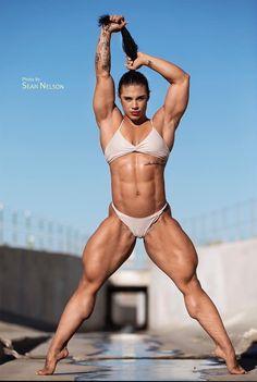 Female bodybuilders busty lana