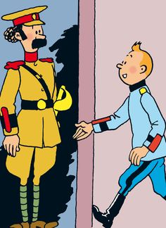 Tintin - Personnages secondaires