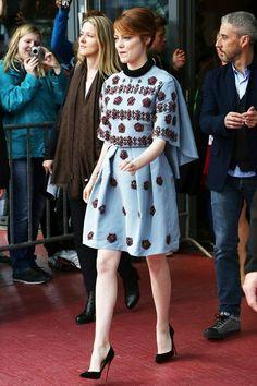Emma Stone in Erdem
