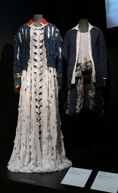 Vivienne Westwood - Cut, Slash & Pull collection 1991 by Museums Sheffield, via Flickr