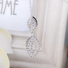 online shopping india silver plated collar necklace Vintage Zircon Paved Pendent big necklace wedding decoration