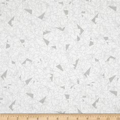 Get Back! 108'' Wide Geo Grey/White from @fabricdotcom  This 108'' wide cotton print fabric is perfect for quilt backing, curtains, duvet covers and more.  Colors include grey and white.