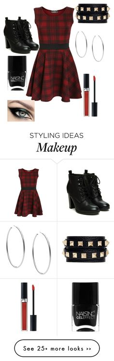 """Black and Red"" by fashionistaoo7 on Polyvore"