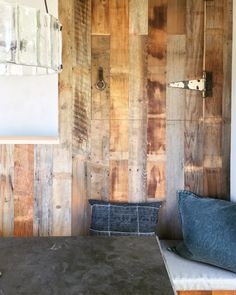 barnwood, marble table, rejuvenation hardware Willamette fluted glass chandelier, glass pendant light, farmhouse style, rusty hinges, dining bench, salvaged wood, reclaimed wood
