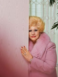 Mary Kay Ash, born May 12th--another Taurus in pink (Mary Kay products are marketed in pale pink).  Taurus is known for her ability to work hard, but also for her love for luxury.