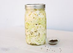 Sauerkraut is one of the greatest probiotic foods. It stimulates the growth of good bacteria and this sauerkraut recipe requires just three ingredients.