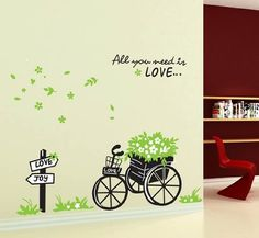 wall sticker decal -YYone All you need is LOVE Love or Joy Crossroad Home Decal For Sitting Room Wall Stickers