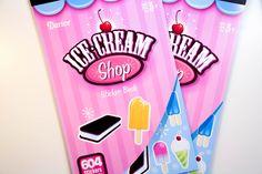 Ice Cream Shop Darice Sticker Book - SB66