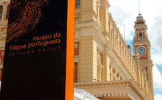 Museu da Língua Portuguesa -  The Portuguese language is a meeting point for distant countries and diverse cultures, and the...
