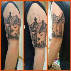 First tattoo half way done. Done by Beynur in Littleport England