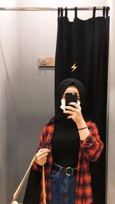 Hijab Fashion Summer, Street Hijab Fashion, Muslim Fashion, Modest Fashion, Fashion Outfits, Stylish Hijab, Casual Hijab Outfit, Cute Casual Outfits, Hijab Fashion Inspiration
