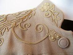 Vintage Sewing~Soutache