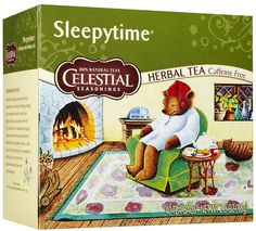 Sleepytime tea. I am obsessed with this stuff.
