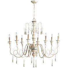 cyan design chantal 8 light chandelier