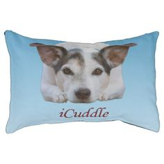Jack Russell iCuddle Pet Bed - home gifts ideas decor special unique custom individual customized individualized