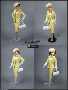 Tenue Outfit Accessoires Pour Barbie Silkstone Vintage Fashion Royalty 1138   eBay