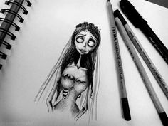 corpse bride drawing tumblr - Google Search