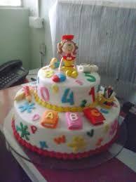 Resultado de imagem para bolos decorados formatura abc