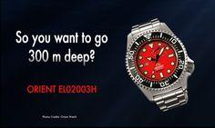 Orient 300 m Diver - Pro Saturation