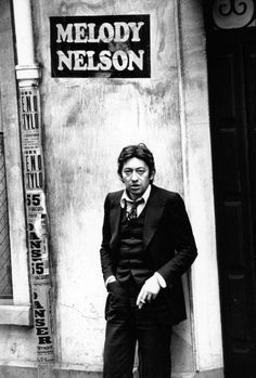 Serge Gainsbourg promoting Melody Nelson
