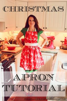 The Vintage Pattern Files: 1950's Sewing - Christmas Apron