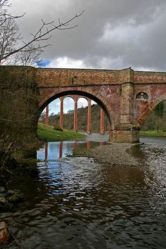 Leaderfoot Bridge, River Tweed, Scottish Borders, Scotland