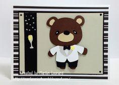 ~ Marilyn's Cricut Cards ~: Teddy Bear Parade - Groom