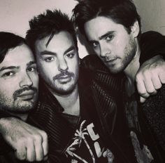 Thirty Seconds to Mars (Jared, Shannon, Tomo) Mars Pictures, Mars Photos, Good Charlotte, Asking Alexandria, Thirty Seconds, 30 Seconds, Jared Leto, My Chemical Romance, Thirty 30