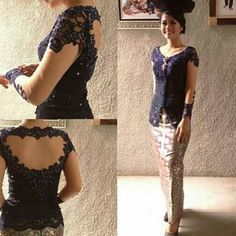 Kebaya Lace, Kebaya Brokat, Dress Brokat, Kebaya Dress, Batik Kebaya, Batik Dress, Model Kebaya Modern, Kebaya Modern Dress, Batik Fashion