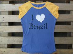 T-shirt  love brazil 2