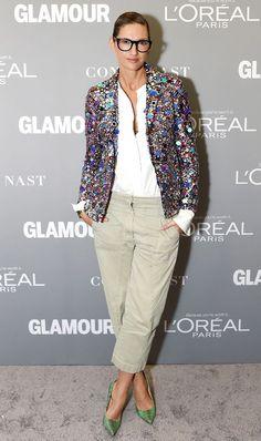 Jenna Lyons makes khakis chic - embellish