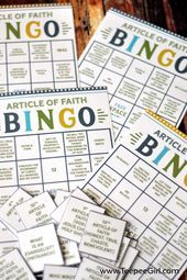 Get this free Article of Faith Bingo game to help Acitvity Days boys and girls l. Bingo Games, Free Games, Boys Day, Conference Call, Boy Or Girl, Articles, Faith, Learning, Girls