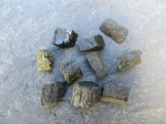 Epidote Raw Crystals // Lot of 10 // by SacredGemstoneStore