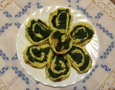Un piatto gustoso, un omelette al forno farcita con spinaci: provatela e piacerà a tutti!