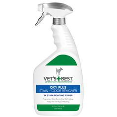 Vet's Best Oxy Plus Pet Stain/Odor Remover, 32-Ounce * For more information, visit now : Cat litter