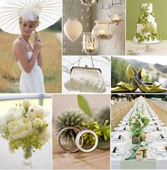 I like the parasol. Not moss green but that is the style of table I will have