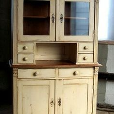 canning hutch   Farmhouse Bookcases, Cabinets and Computer Armoires Design Ideas ...