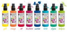 Marabu Fashion-Spray http://marabu.com/k/ilf #Marabu #IloveFashion #Outfit #Textilfarbe #Spray #Shirt Fashion-Spray