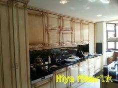 Patine lake mutfak dolabı granit tezgah kişisel özel imalat