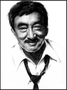 Practiced my digi paint on BnW using intuos 3 and max time is only did a smirk since am still working on with the teeths and gu. Jobs In Art, Filipino Culture, Zsa Zsa, Pinoy, Comedians, Famous People, Growing Up, Laughter, Comedy