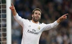 An outstanding goal from Dani Carvajal won the UEFA Super Cup in the final minute of extra time as Real Madrid prevailed over Sevilla. Best Football Team, Football Players, Real Madrid, Uefa Super Cup, Finals, Barcelona, 28 Years Old, Spanish, Sevilla