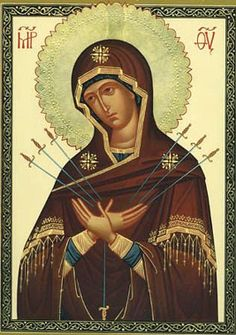 E-zine Prešovskej eparchie - Liturgické katechézy Religious Icons, Religious Art, Famous Freemasons, Sacred Heart Tattoos, Our Lady Of Sorrows, Byzantine Icons, Jesus Pictures, Orthodox Icons, Blessed Mother