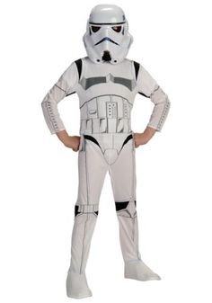 Star Wars Stormtrooper Child Costume - Small (4/6) by Rubie's. $26.99. Join the Imperial Stormtrooper army with this Star Wars Stormtrooper Child Costume. Includes jumpsuit and mask.