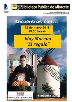 #actividadesBiblioteca Encuentro con Eloy Moreno