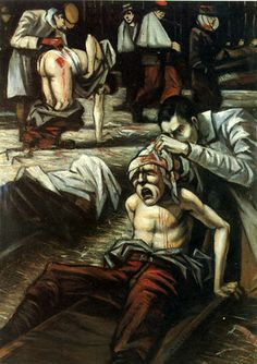 The Doctor 1916 ~By Christopher R W Nevinson ~Via Colin Dilnot