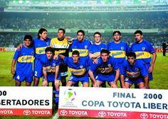 BOCA JUNIORS CAMPEÓN COPA LIBERTADORES 2000
