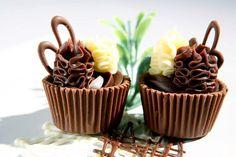 Copinho misto ::: ::: #atteliededoces #docesfinos #carolinadarosci #casamento #sobremesa #docinhos #docesgourmets #mesadedoces #artesanal #chocolate