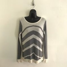 I just added this to my closet on Poshmark: C&C California Long Sleeve Striped Sweater Tee. Price: $19 Size: S